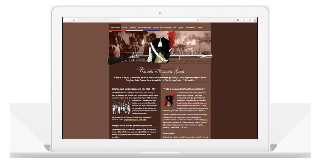 Historie tvorby webů