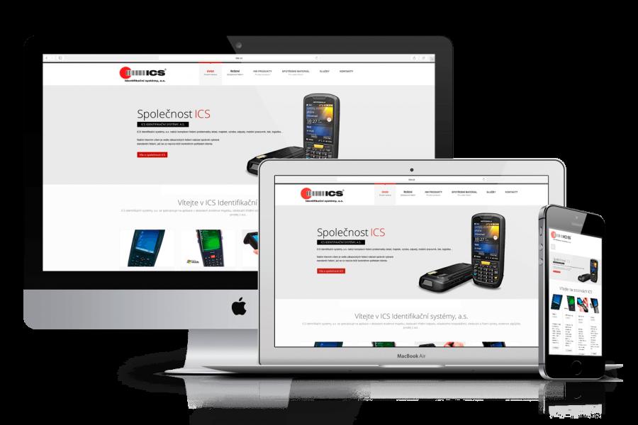 Responsivní web s e-shopem ICS