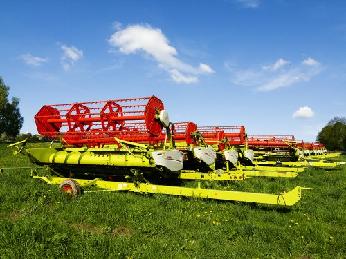 Olešnice - zemědělské stroje