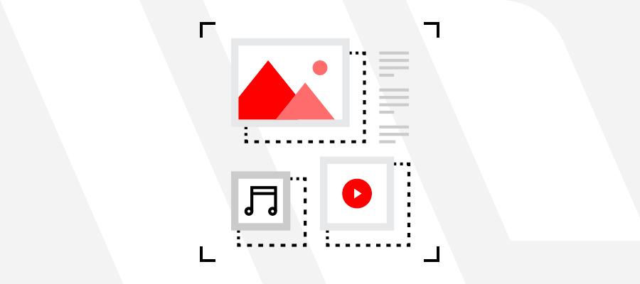 Vkládání videí a videogalerií