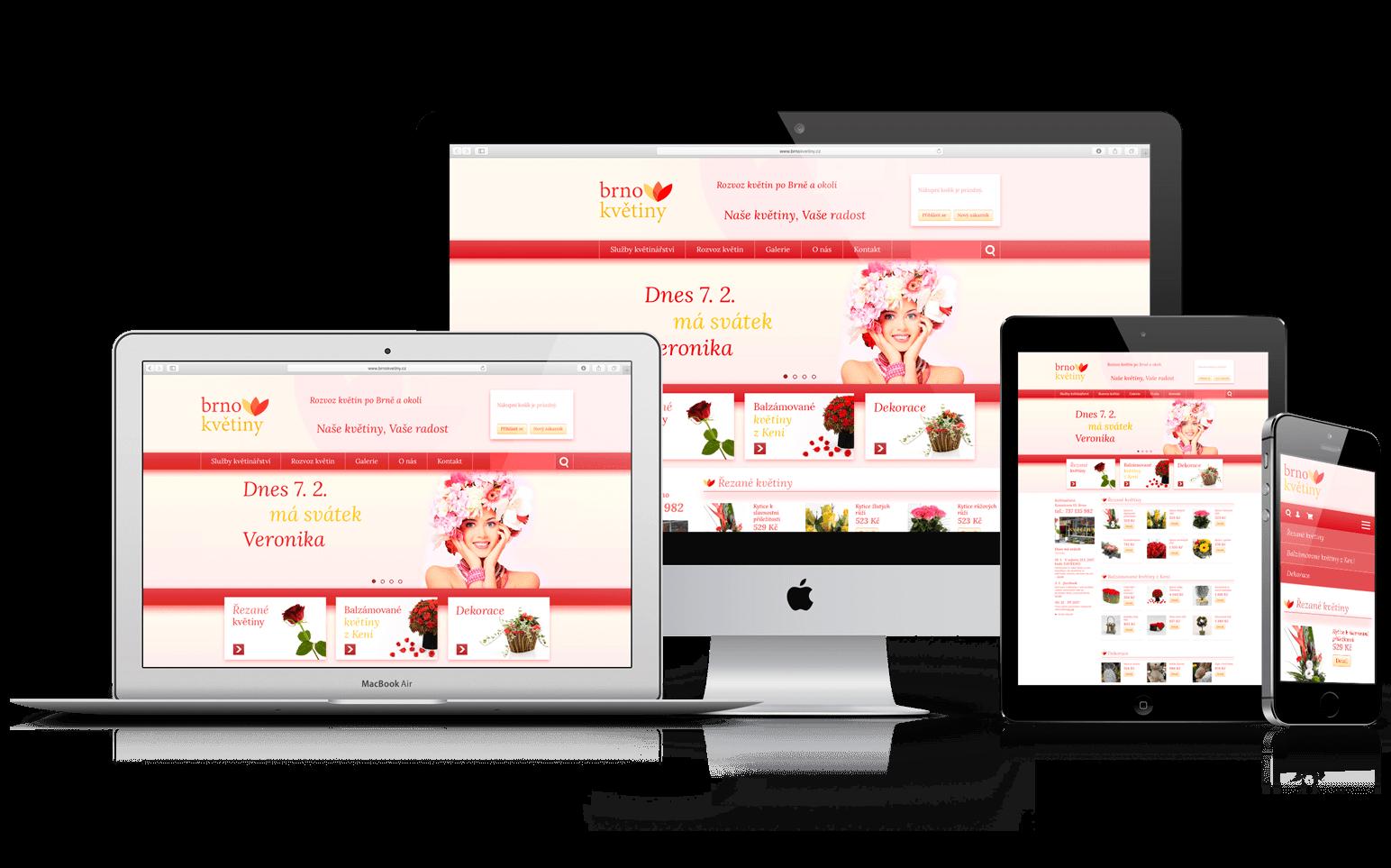 E-shop Brno květiny