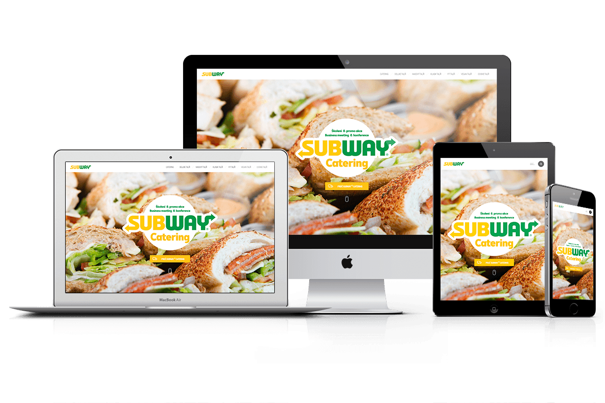 Microsite Subway