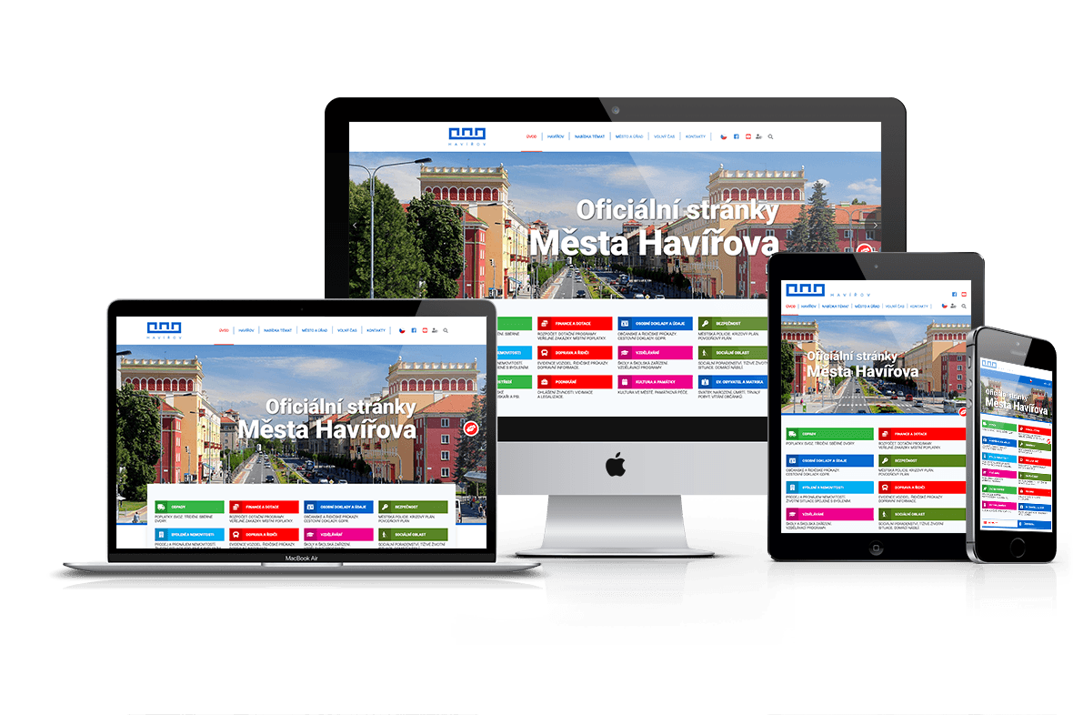 Web města Havířov