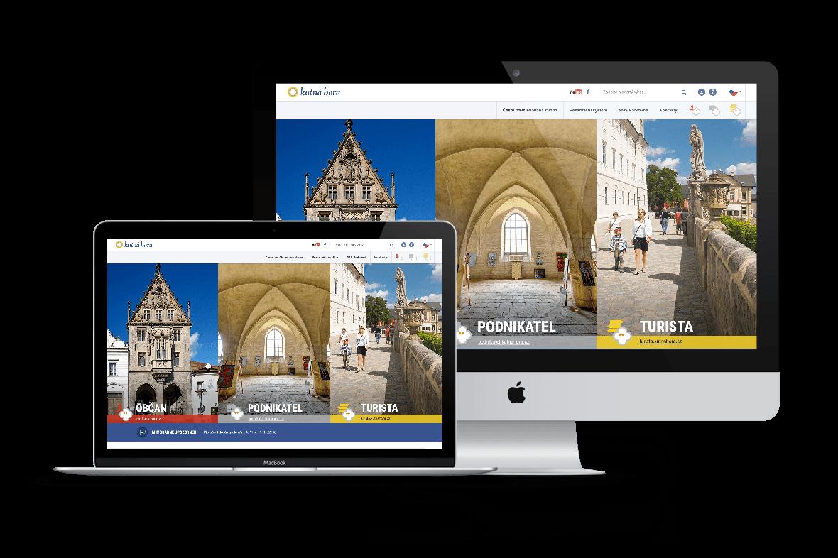 Web města Kutná Hora