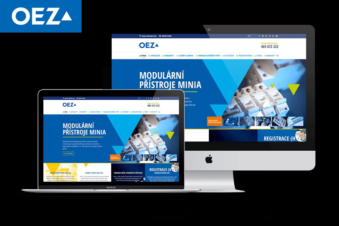 Redesign portálu OEZ 2018