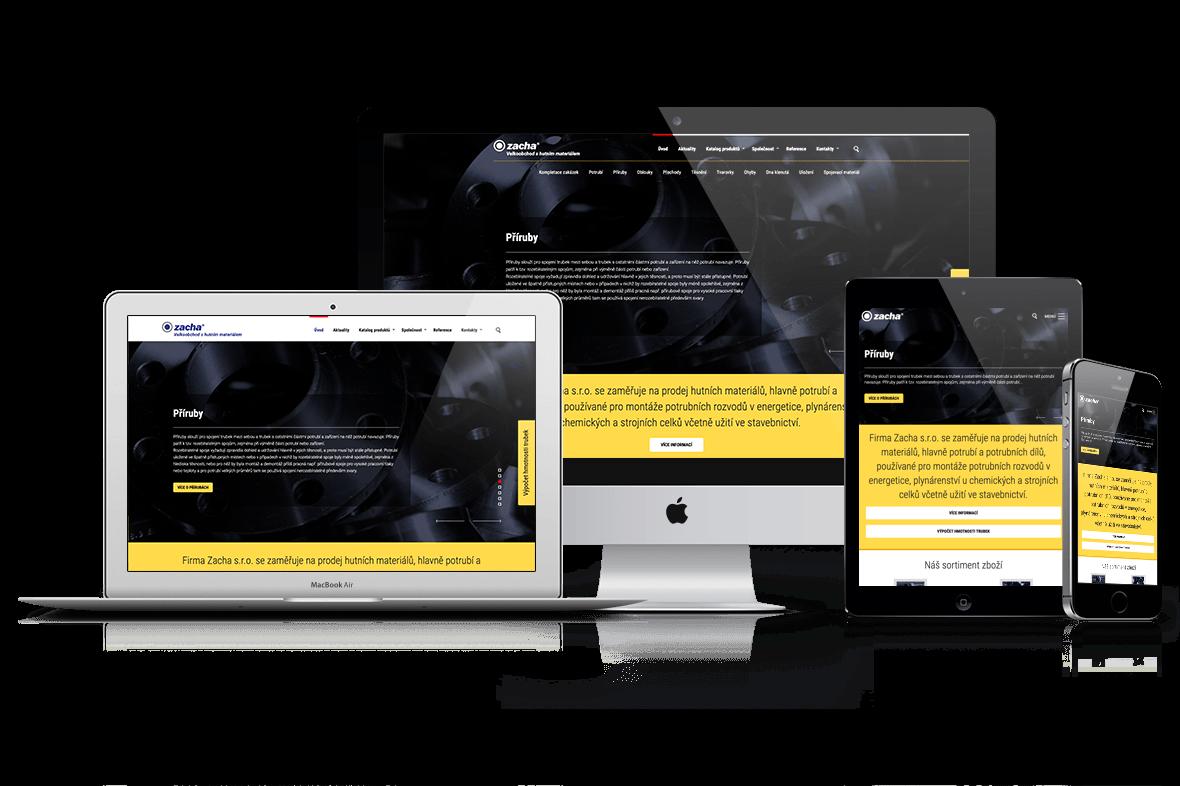 Nový web Drupal 7 ZACHA